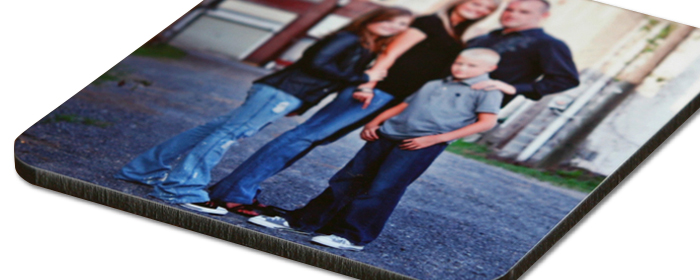 Custom Photo Coasters 3.75 x 3.75 with Rounded Corners Cork Back