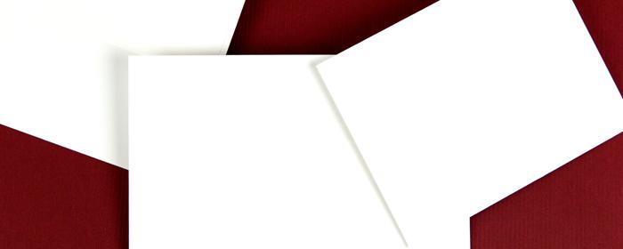 Linen Eggshell Envelopes Included Free