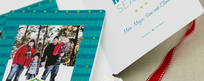 Professional Press Printed Photo Greeting Cards