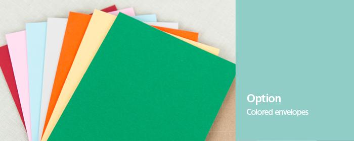 Multiple Color Kraft Pearlized Envelopes