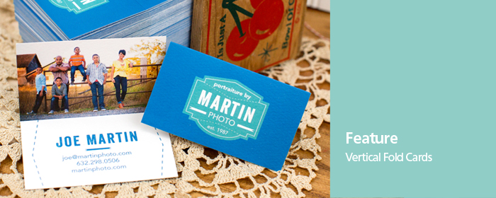 Flat Folded Two-Sided Professional Press Printed Business Cards
