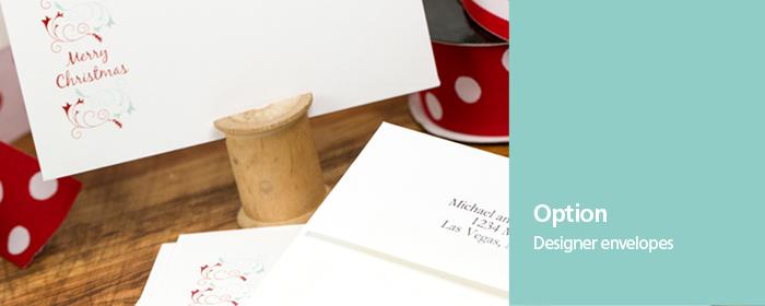 Designer Envelopes Holiday Designs Return Address