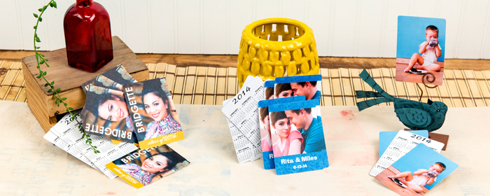 Wallet Sized Press Printed Photo Pocket Calendars!