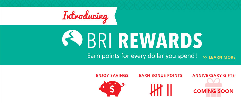 Earn points for every dollar spent!