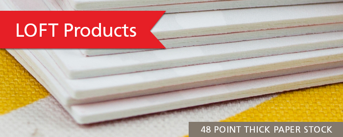 Ultra-Thick LOFT Paper Ornament 32 48 64 Point Thickness