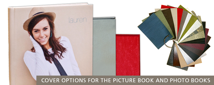 Picture Book Basic Fabric Premium Silk Fabric Faux Leather Photo Cover Lay-Flat Page