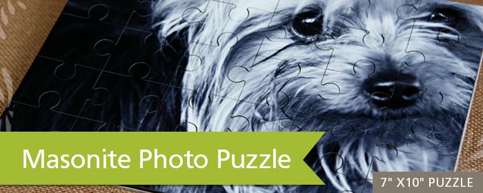 Custom Personalized Masonite Photo Puzzle!