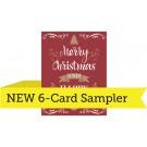 "A2 - 4.25"" x 5.5"" 6-Card Sampler"