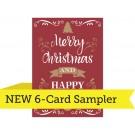 "A7 - 5"" x 7"" 6-Card Sampler"