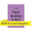 "A7  - 5"" x 7"" LOFT 6-Card Sampler"