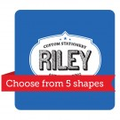 "2.5"" x 2.5"" Shaped Business Card"