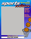 Basketball Magazine Cover