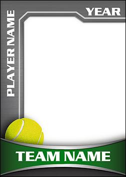 Heavy Metal Tennis Pro Bag Tag