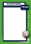 Baseball Pro Bag Tag