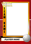 Volleyball Pro Bag Tag
