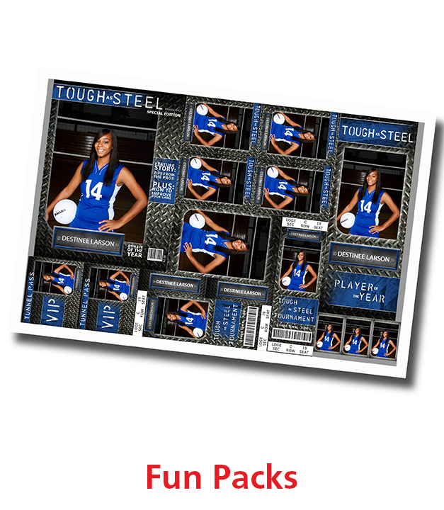 Sports Fun Packs