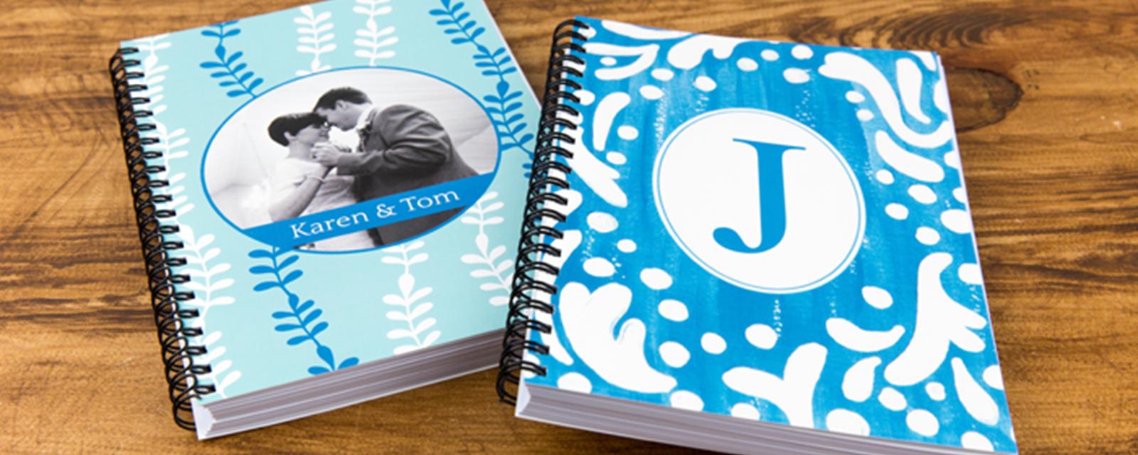 Blank Spiral Journals