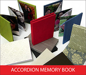 Accordion Memory Book Sample Image