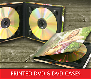 Printed DVD and DVD Cases Sample Image