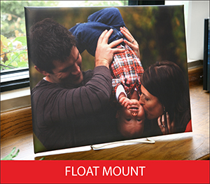 Float Mount Sample Image