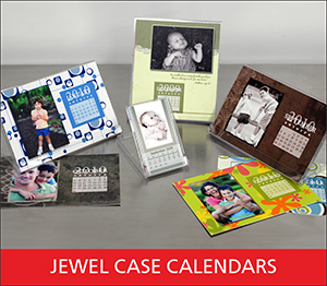 Jewel Case Calendar Sample Image