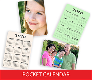 Pocket Calendar Sample Image