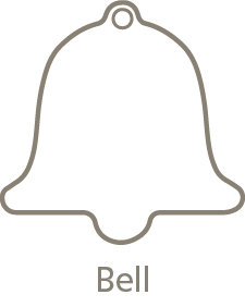 Shaped Metal Ornament Bell