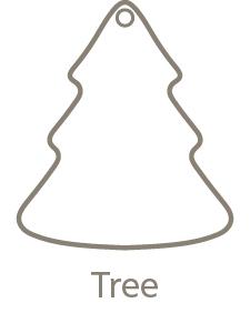 Shaped Metal Ornament Tree