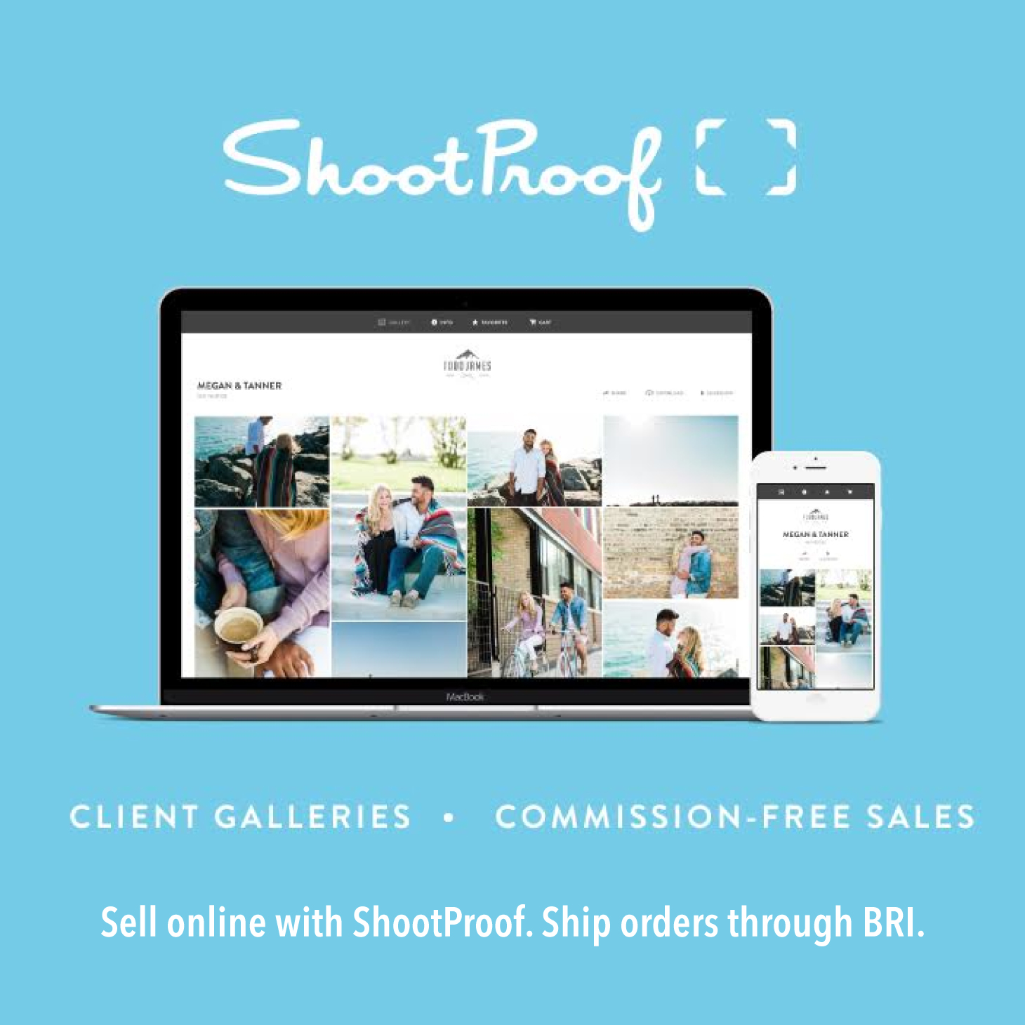 Sell Online with Shootproof