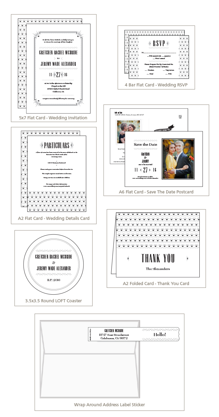 5x7 Flat, Folded, and Tri-Fold Greeting Card | Black River Imaging