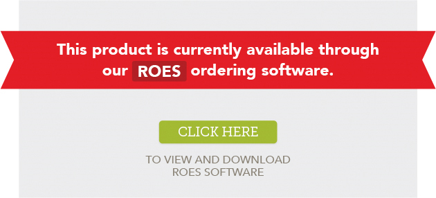 Product Currently Available Through ROES