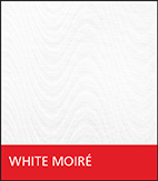 White Moiré Fabric
