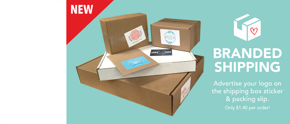 Your logo on the box only $1.40