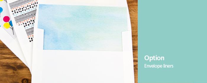 Pre-Assembled Press Printed Envelope Liners
