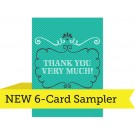 """A7  - 5"""" x 7"""" ColorTHICK 6-Card Sampler"""