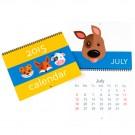 "8.5"" x 11"" Custom Wall Calendar"