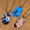"1.125"" x 2"" Metal Print Dog Tags"