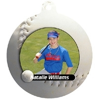 Softball Sports Ornament