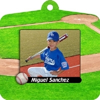 Baseball Sports Ornament