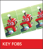 Sports Key Fobs