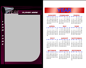 Honeycomb Cheerleading Calendar