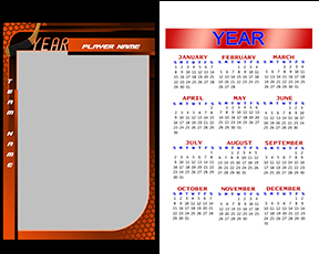 Honeycomb Hockey Calendar