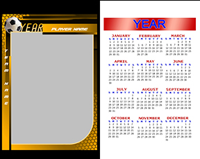 Honeycomb Soccer Calendar