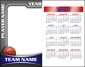 Heavy Metal Basketball Calendar