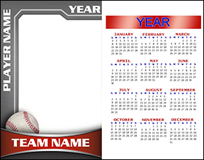 Heavy Metal Baseball Calendar