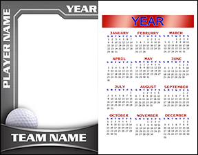 Heavy Metal Golf Calendar