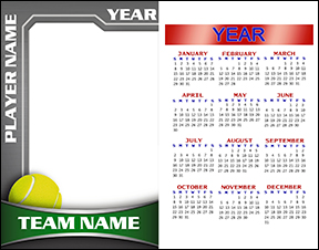 Heavy Metal Tennis Calendar