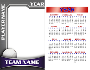 Heavy Metal Volleyball Calendar