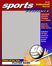 Volleyball Magazine Cover