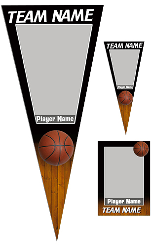 Basketball Pennant Pack